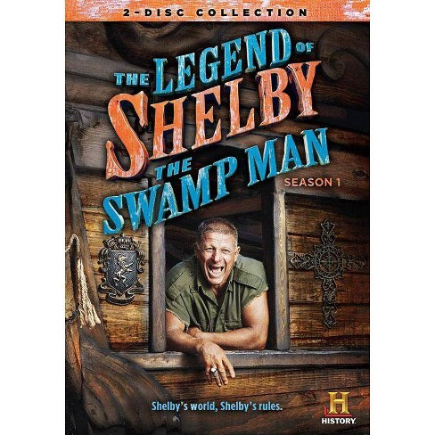 The Legend of Shelby the Swamp Man: Season 1 (DVD) - image 1 of 1