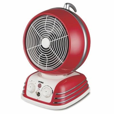 Optimus Retro Design Oscillating Fan Heater