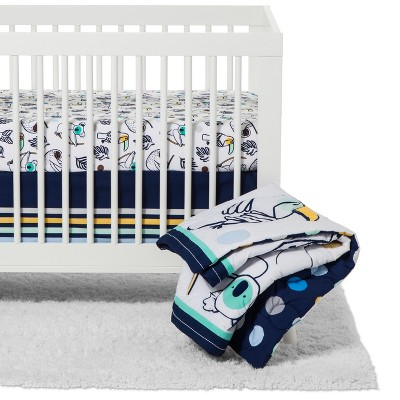 Crib Bedding Set Gone Wild - Cloud Island™ Navy