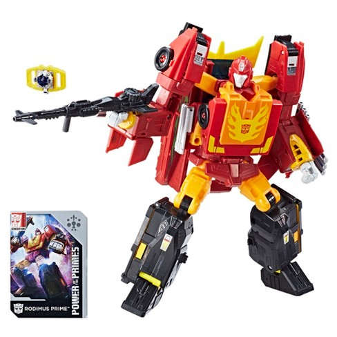 Transformers Generations Power of the Primes Leader Evolution Rodimus Prime - image 1 of 12