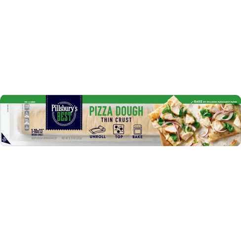 Pillsbury's Pizza Dough Thin Crust - 8.21oz - image 1 of 3