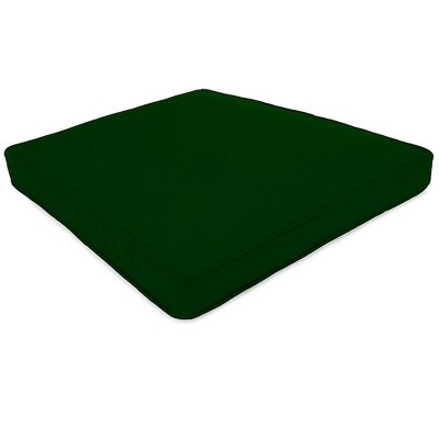 Plow & Hearth - Prospect Hill Deluxe Chair / Rocker Seat Cushion Forest Green