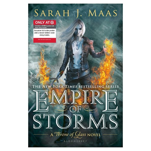 Empire of Storms (Throne of Glass Series #5) (Hardcover) (Exclusive Content and Poster) (Sarah J. Maas) - image 1 of 2
