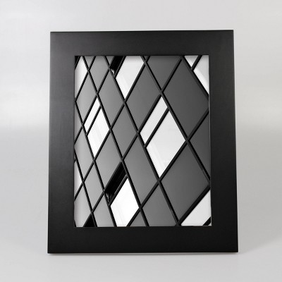 "8"" x 10"" Wide Single Picture Frame Black - Made By Design™"
