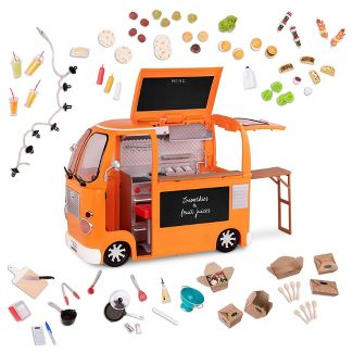 "Our Generation Grill to Go Food Truck Deluxe Accessory Set for 18"" Dolls"