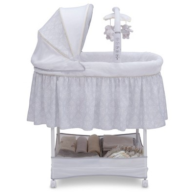 Simmons® Kids® SlumberTime™ Elite Gliding Bassinet - Peacock
