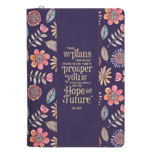 Journal Classic Navy Floral I Know the Plans - (Paperback) - image 1 of 1