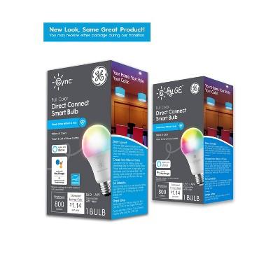 General Electric Full Color Smart LED Bulb A19