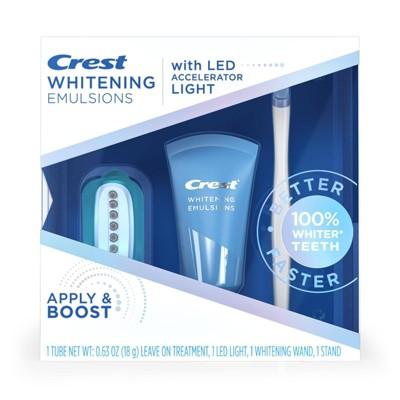 Crest Whitening Emulsions Leave-on Teeth Whitening Treatment with LED Accelerator Light - 0.63oz