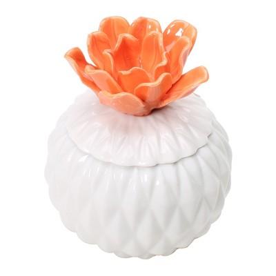 4.9oz Figural Ceramic Jar Candle Wildberry Poppy - Opalhouse™