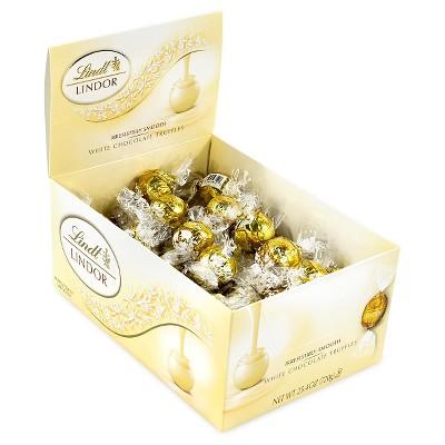 Lindt Lindor White Chocolate Truffles - 60ct