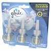 Glade Clean Linen Plug-In Scented Oil Refill - 3ct - image 3 of 4
