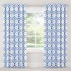 Alena Blackout Curtain Panel Dye Blue - Cloth & Co. - image 3 of 4