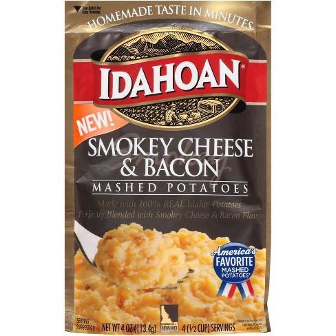 Idahoan Smokey Cheese & Bacon Mashed Potatoes - 4oz - image 1 of 1