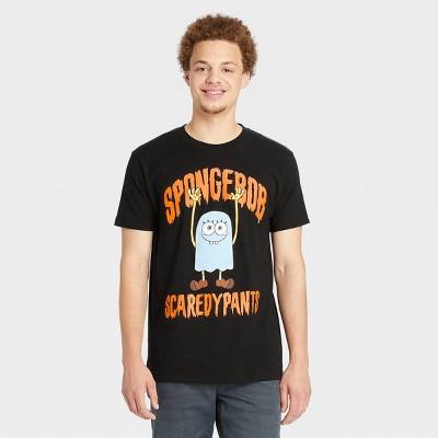 Men's SpongeBob SquarePants Short Sleeve Graphic T-Shirt - Black