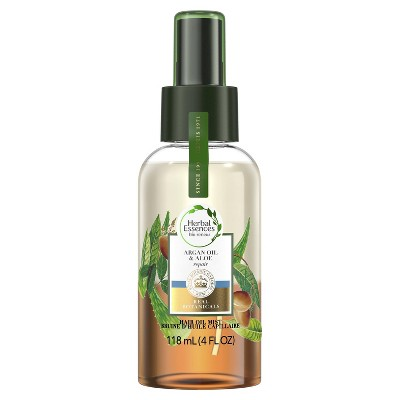 Herbal Essences bio:renew Argan Oil & Aloe Lightweight Hair Oil Mist Repair - 4 fl oz