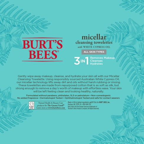Micellar Cleansing Towelettes by Burt's Bees #14