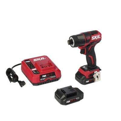 Skil ID574402 12V Brushless Lithium-Ion 1/4 in. Cordless Hex Impact Kit (2 Ah)