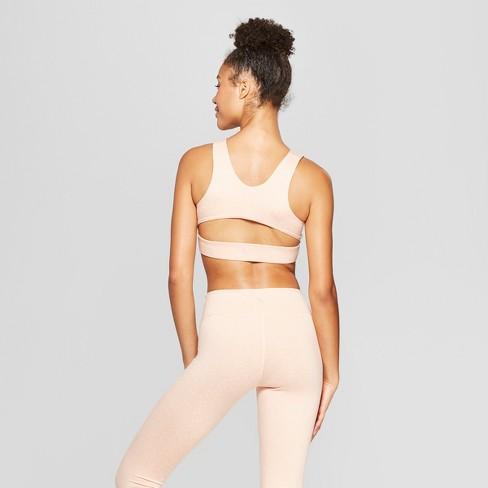 82f19d0417 Women s Comfort Wrap Front V-Neck Sports Bra - JoyLab™   Target