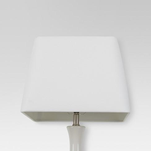 Soft Square Lamp Shade Large White Threshold