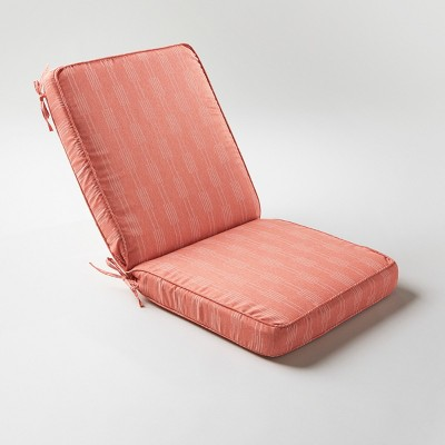 Stagger Stripe Outdoor Chair Cushion Terracotta - Project 62™