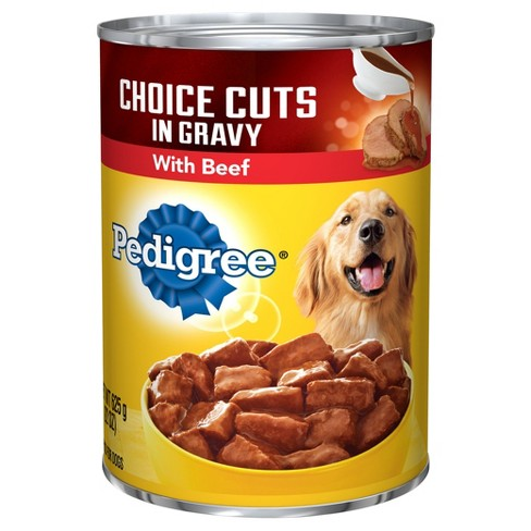 Pedigree® Beef Choice Cuts in Gravy Wet Dog Food - 22oz - image 1 of 1