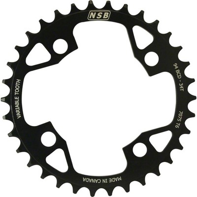 NSB Variable Tooth Chainring Chainring- Tooth Count: 34Chainring BCD: 94