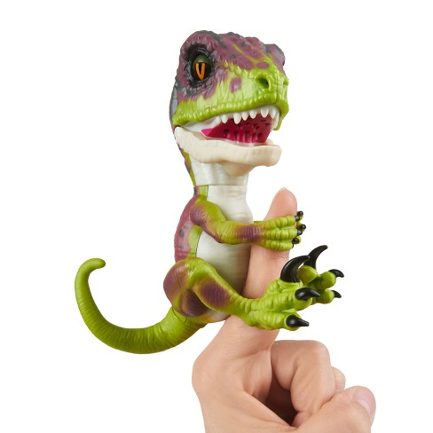 Fingerlings Stealth Baby Velociraptor Action Figure - image 1 of 8