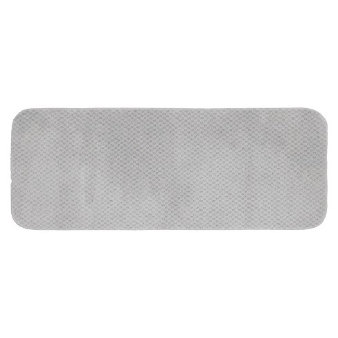 Cabernet Solid Nylon Washable Bath Runner - Garland Rug® - image 1 of 1
