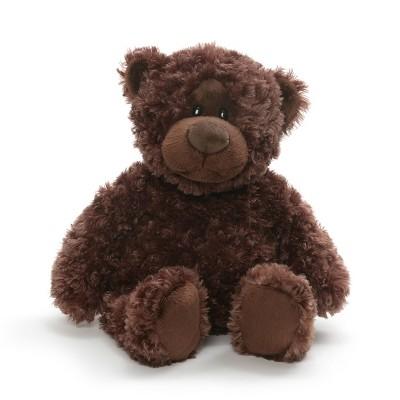 "G by GUND Chocolate Bear 13"" Stuffed Animal"