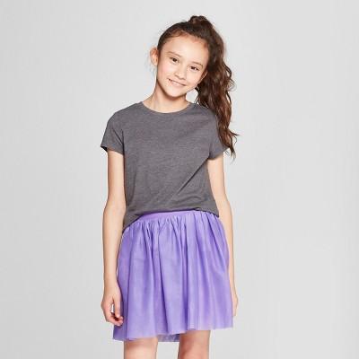 d871fc8386 Girls  Short Sleeve T-Shirt - Cat ...
