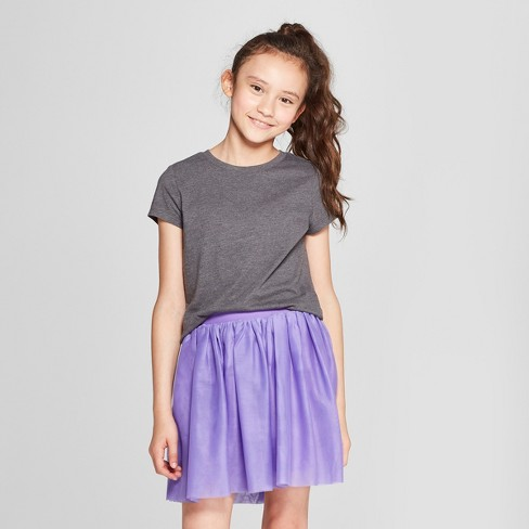 Girls' Short Sleeve T-Shirt - Cat & Jack™ - image 1 of 3