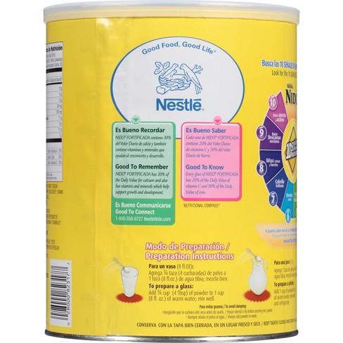 Nestle Nido Fortificada - 3 52lbs