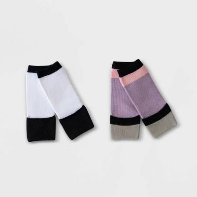 Toddler 2pk Sensory Friendly Socks - Sockabu Lavender 12-24M