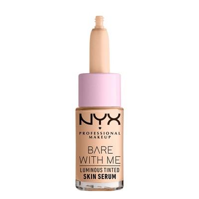 NYX Professional Makeup Bare with Me Luminous Tinted Skin Serum - Dewy Finish - 0.43 fl oz