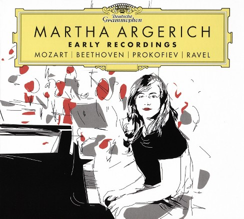 Martha Argerich - Early Recordings:Mozart Beethoven Pro (CD) - image 1 of 1