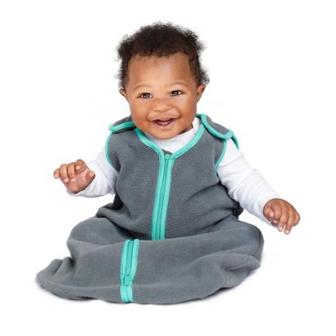 Swaddle Wrap baby deedee Gray Teal Blue
