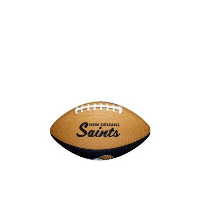 NFL New Orleans Saints Mini Retro Football