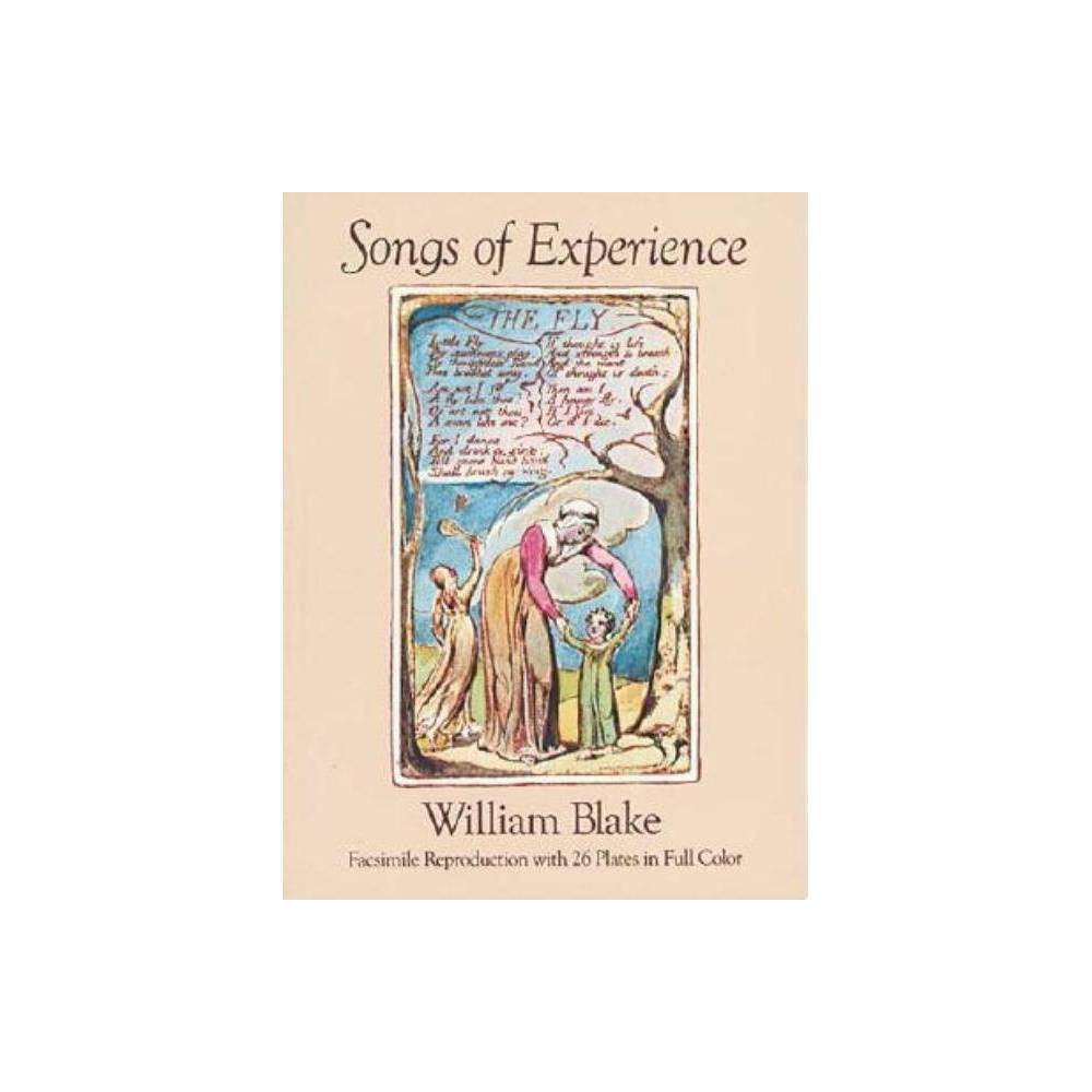 Songs Of Experience Dover Fine Art History Of Art By William Blake Paperback