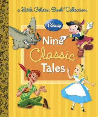 Disney Nine Classic Tales ( Little Golden Book Collection)(Hardcover)