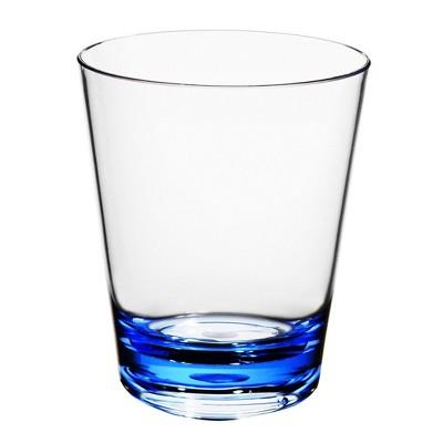 15oz Plastic Short Tumbler Blue - Room Essentials™