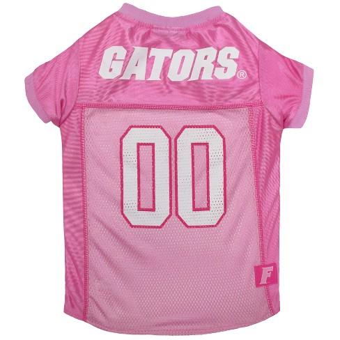fb155dc17fe6 NCAA Pets First Florida Gators Pink Jersey - L   Target