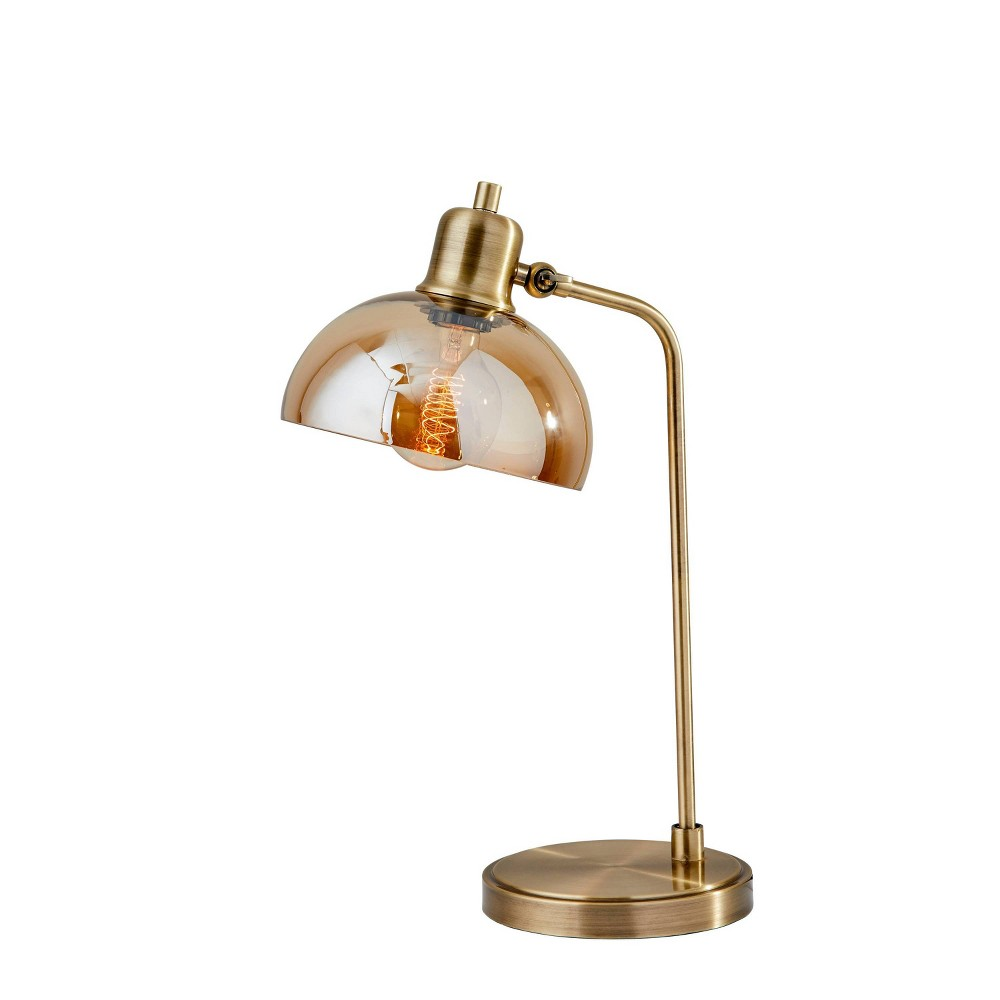 Image of Lily Desk Lamp Brass - Adesso
