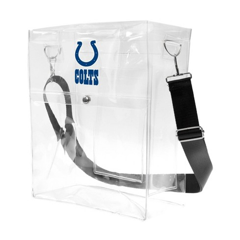 NFL Indianapolis Colts Clear Ticket Satchel - image 1 of 4