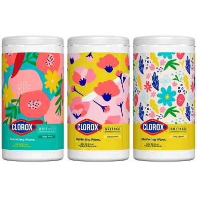 Clorox Disinfecting Wipes Brit. + Co - 3ct