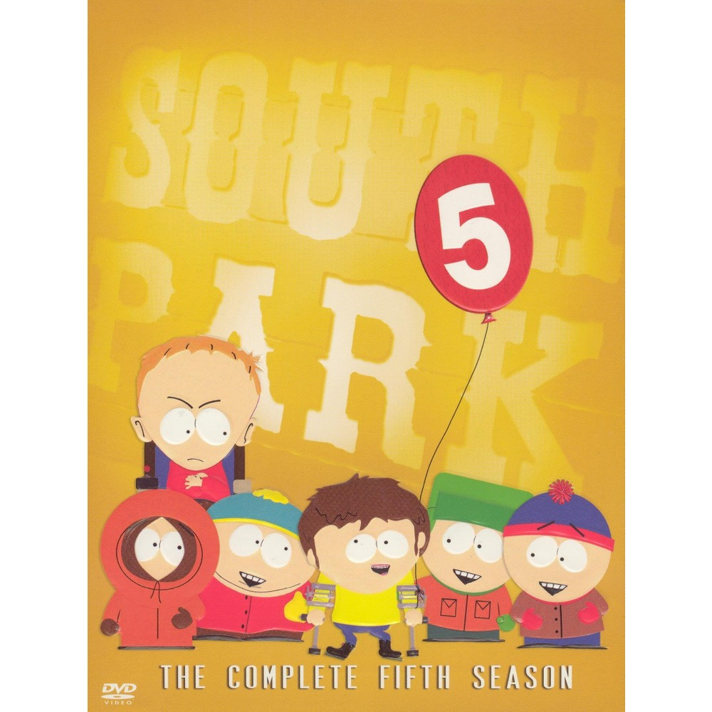 South Park: The Complete Fifth Season (3 Discs) (DVD) Buy