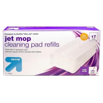 Jet Mop Pad Refills - 17ct - up & up™