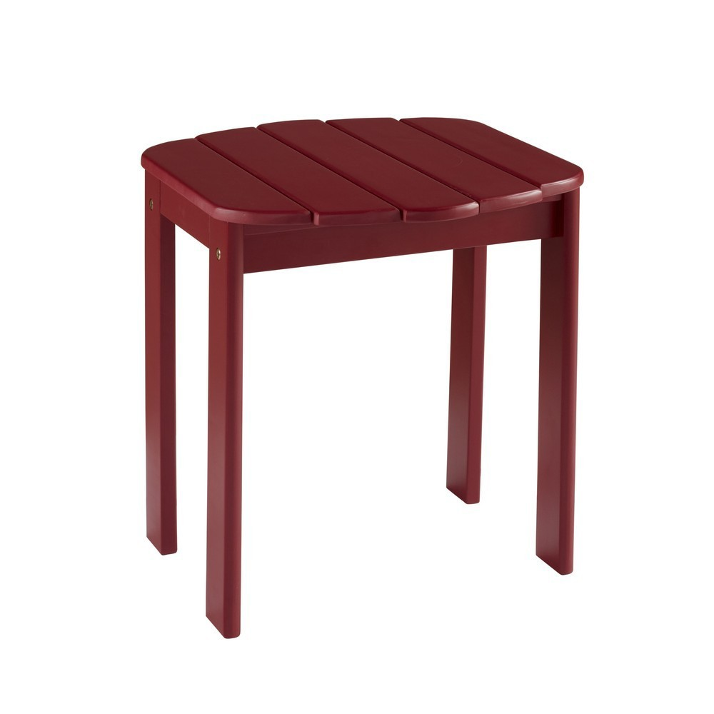 Adirondack End Table Red - Linon