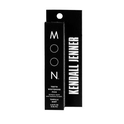 Moon Kendall Jenner Teeth Whitening Pen Vegan Paraben + SLS Free Vanilla Mint - 1ct