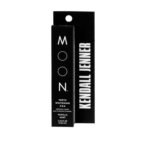 Moon Kendall Jenner Teeth Whitening Pen Vegan Paraben Sls Free Vanilla Mint 1ct Target